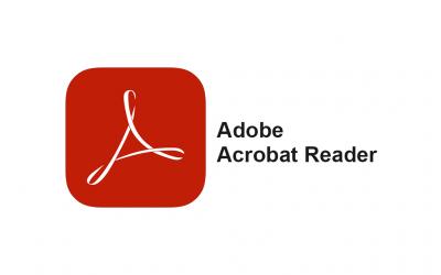 نرم افزار Adobe Acrobat Reader نمایش دهنده اصلی فایل های PDF